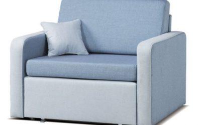 Rozkładana sofa jednoosobowa